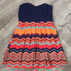 Xhilaration Strapless Dress, SZ L